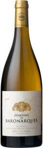Domaine de Baronarques white wine, chardonnay, 2016, Limoux, Languedoc Roussillon