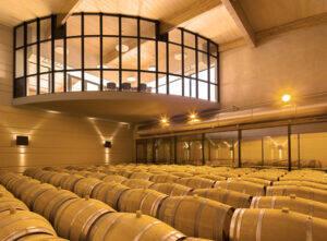 Domaine de Baronarques vin blanc Languedoc Roussillon Limoux chai
