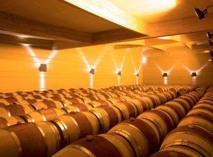 Domaine de Baronarques vin rouge Languedoc Roussillon Limoux chai
