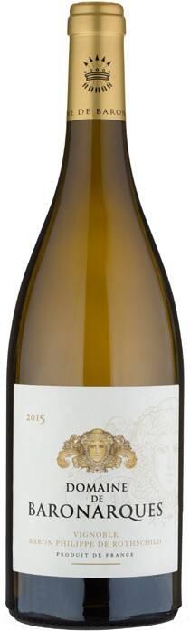 2015年份亚库男爵酒庄干白葡萄酒