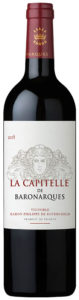La Capitelle de Baronarques, red wine, Limoux, Languedoc, 2017