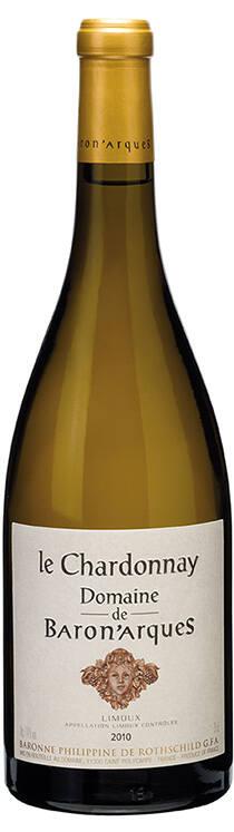 le Chardonnay Domaine de Baron'arques 2010