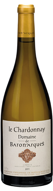 le Chardonnay Domaine de Baron'arques 2011