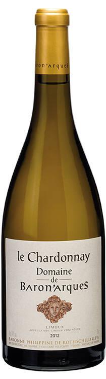 le Chardonnay Domaine de Baron'arques 2012